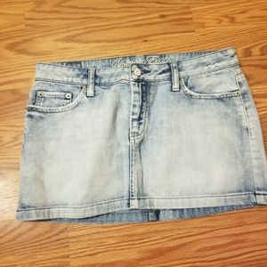 American Eagle Outfitters denim jean skirt